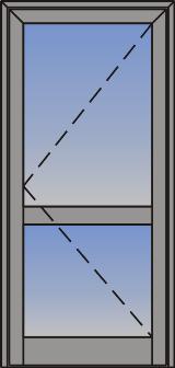 Jednokrilna ulazna vrata sa otvaranjem na spolja