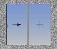 Jednokrilni klizni prozor sa fiksnim svetlarnikom