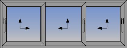 Trokrilni podizno-klizni sistem sa niskim pragom