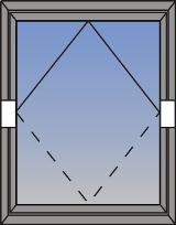 Horizontalni pivot prozor