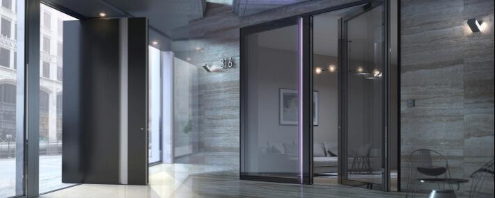 Ulazna vrata - Alumil